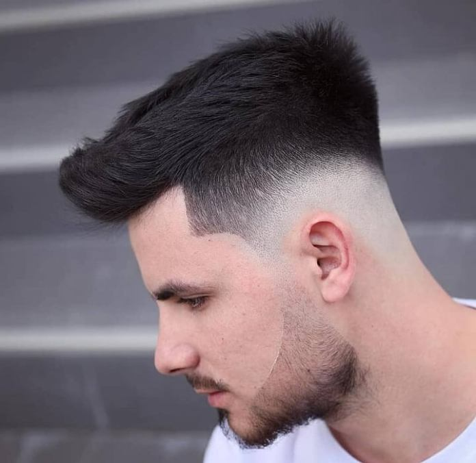 Taper-Texture-Razor-Fade-Cut Drop Fade Haircut for an Ultimate Stylish Look