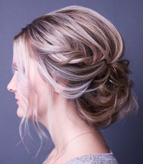 Updo-for-Fine-Hair 15 Fabulous Hairstyles for Fine Hair