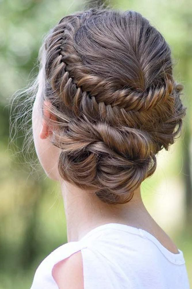 Wrapping-Fishtail-Braid 21 Halo Braids to Uplift Your Overall Appearance