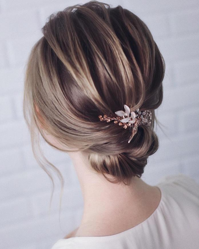 beautifully-knotted-chignon 20 Eye-catching Updo Hairstyles To Make Your Day