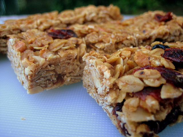 healthy granola bar recipe