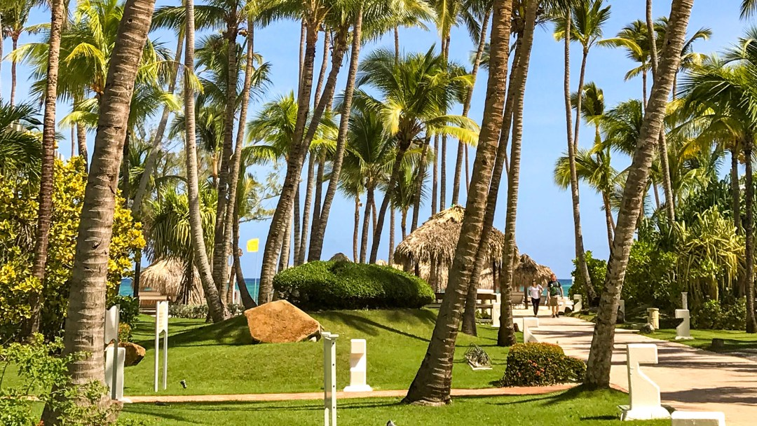 Pathway leading to Bavaro Beach at Paradisus Punta Cana