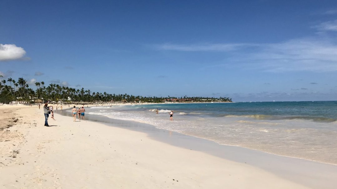 Bavaro Beach in front of Paradisus Punta Cana.