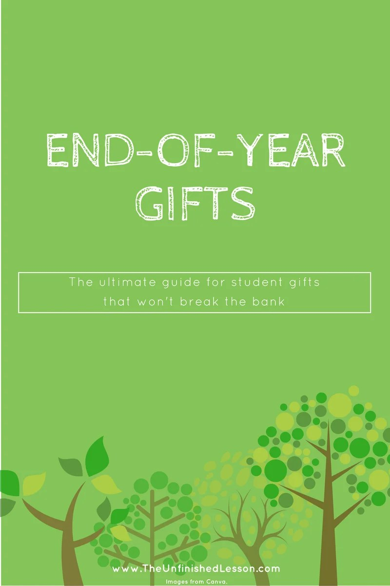 End-of-year student gifts (that won't break the bank)