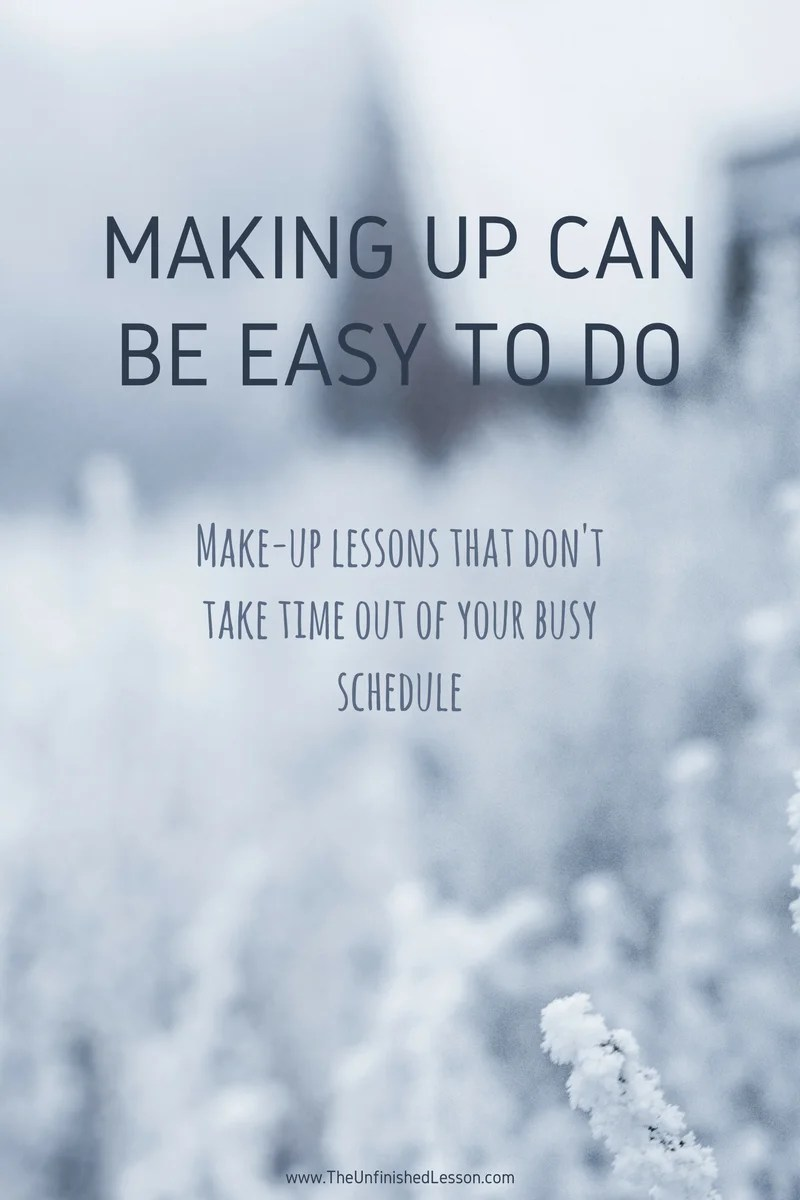 Making Up Can Be Easy To Do