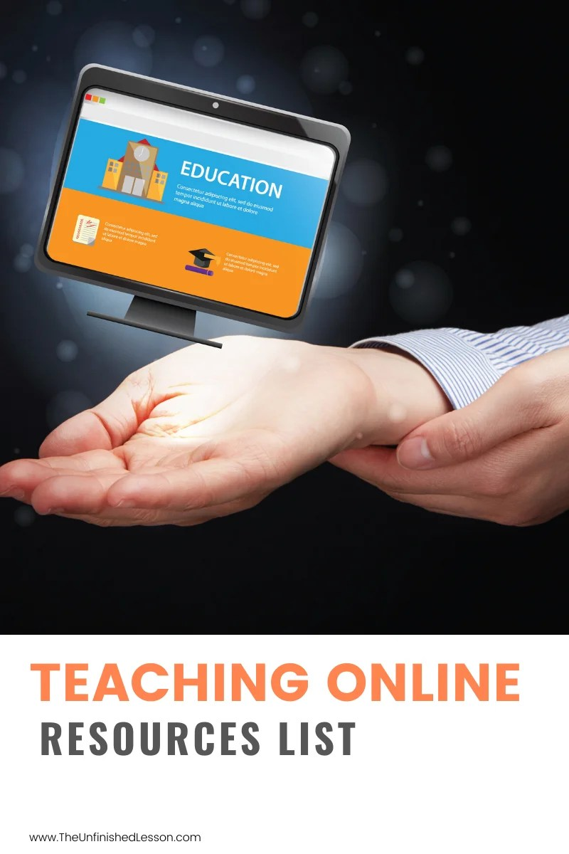 Teaching Online Resources List