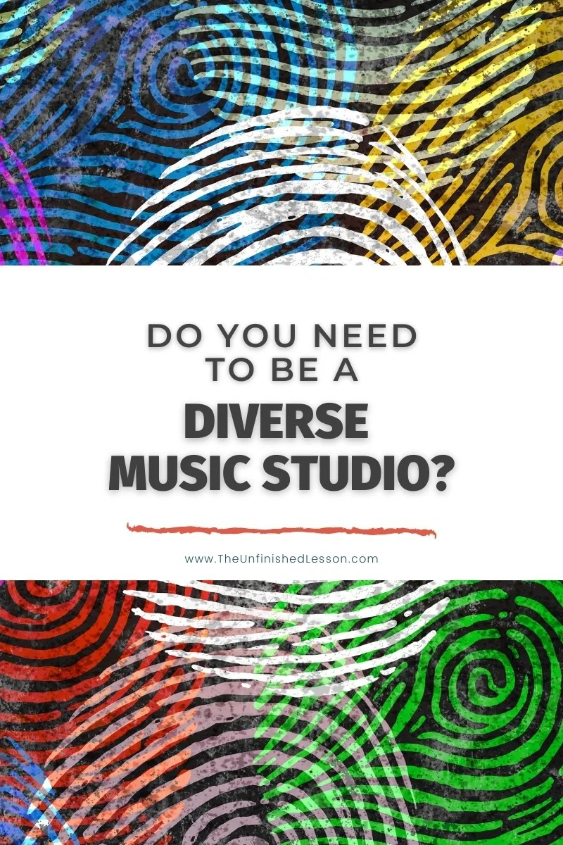 Do You Have to Be a Diverse Studio?
