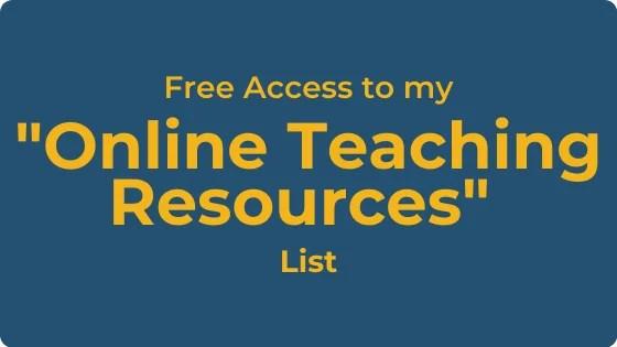 FREE Online Teaching Music Resources List