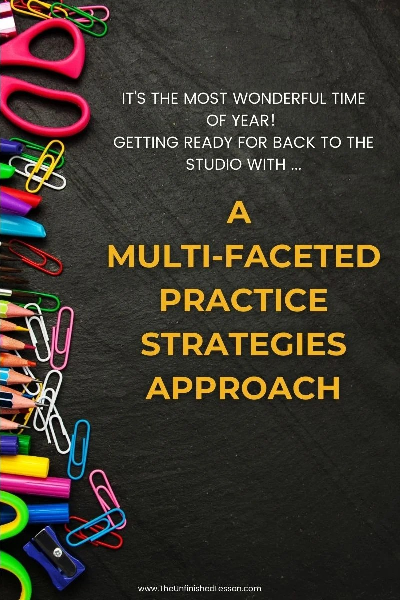 A Multi-Faceted Practice Strategies Approach