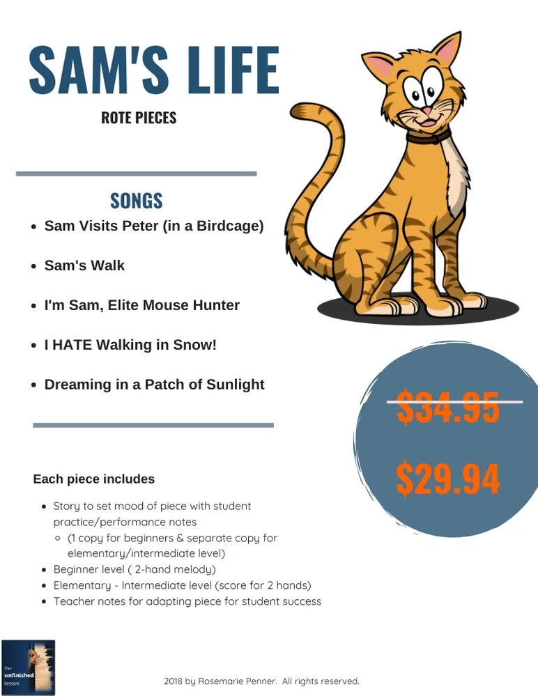 Sam's Walk (Pricing)