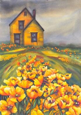 Yellow Poppiesxsml