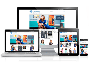 The Uniform Solution Responsive Customer WebStore
