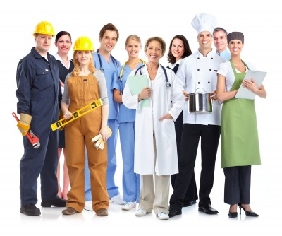 THe Uniform Solution group of industrial workers