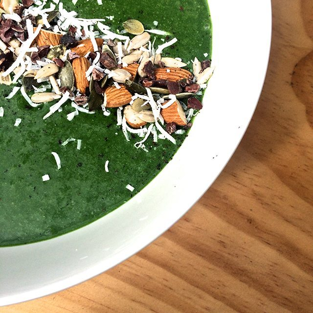 green smoothie bowl green is good green smoothie company