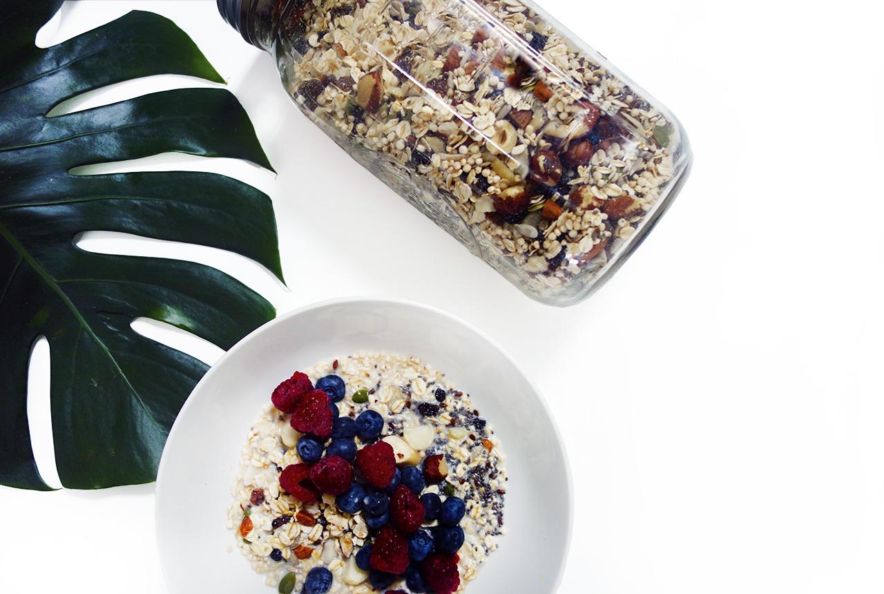 raw healthy superfood muesli vegan gluten free wholefood clean eats