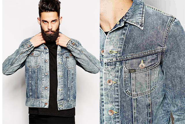 Lee  // Bleach Spray Denim Jacket