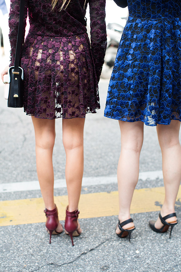 Full skirts - age appropriate dressing