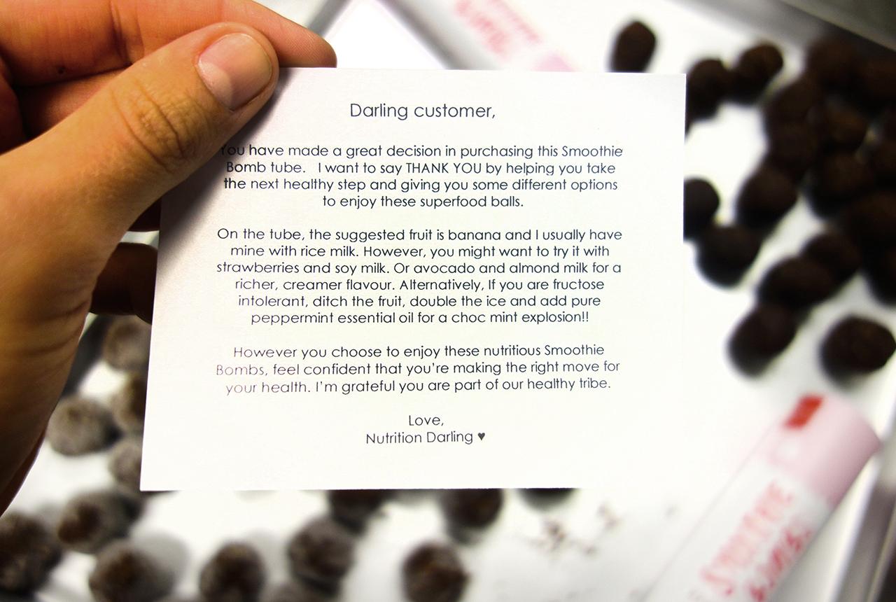 nutrition darling packaging