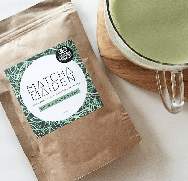 matcha maiden stone ground green tea health food