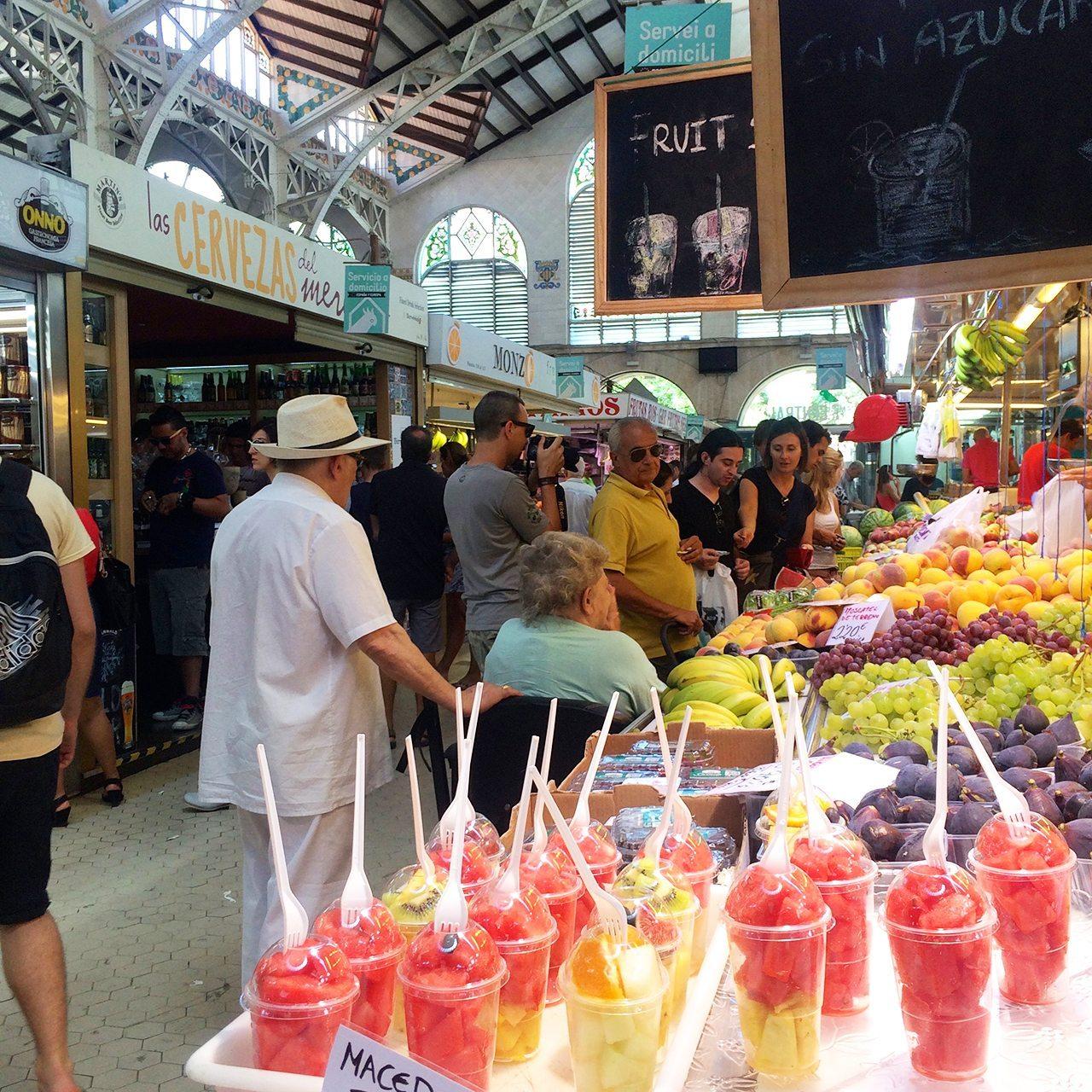 Valencia Central Market Busabout La Tomatina