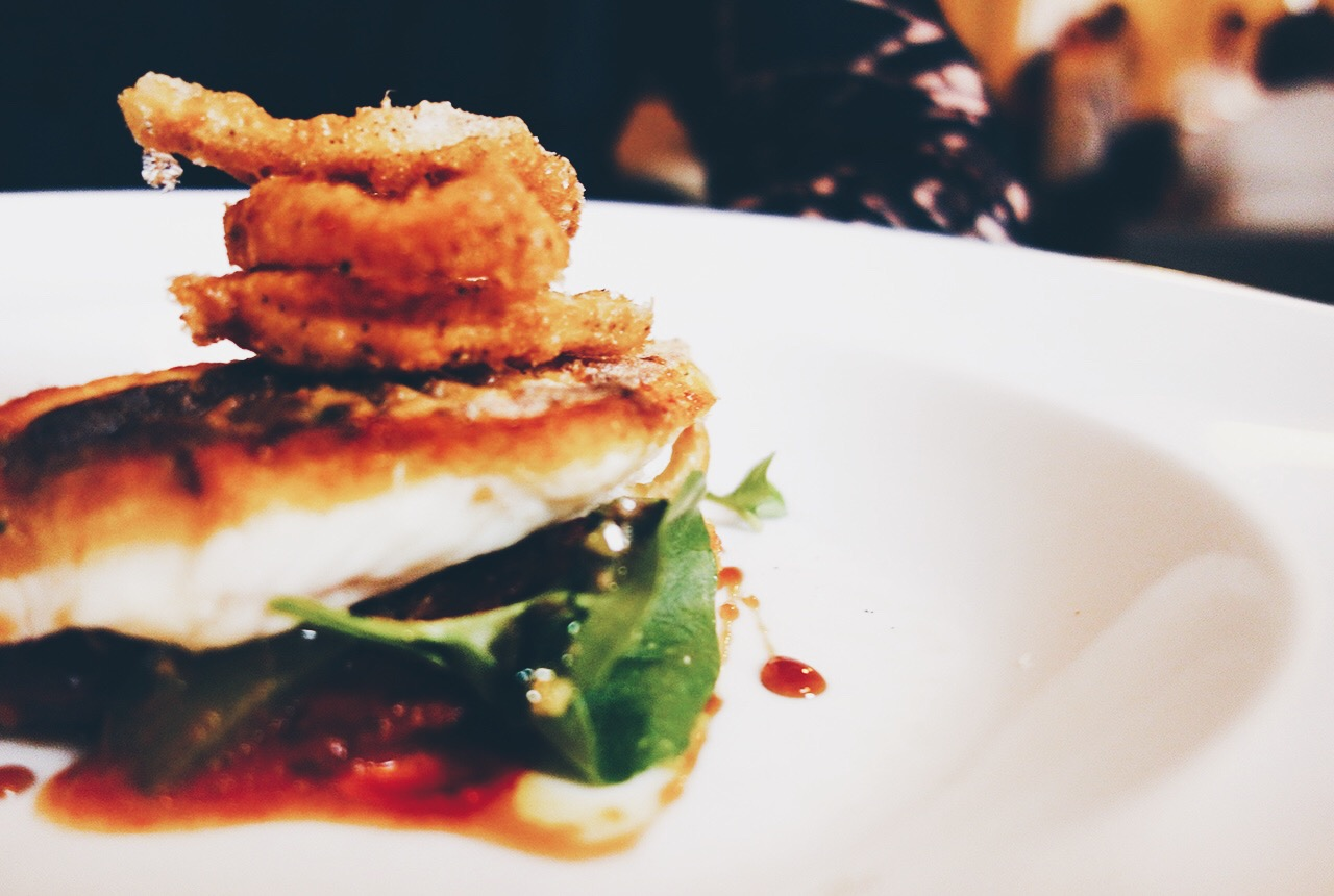 Logan Brown Wellington New Zealands Best Restaurant Bistro Menu Crisp Skin Gurnard