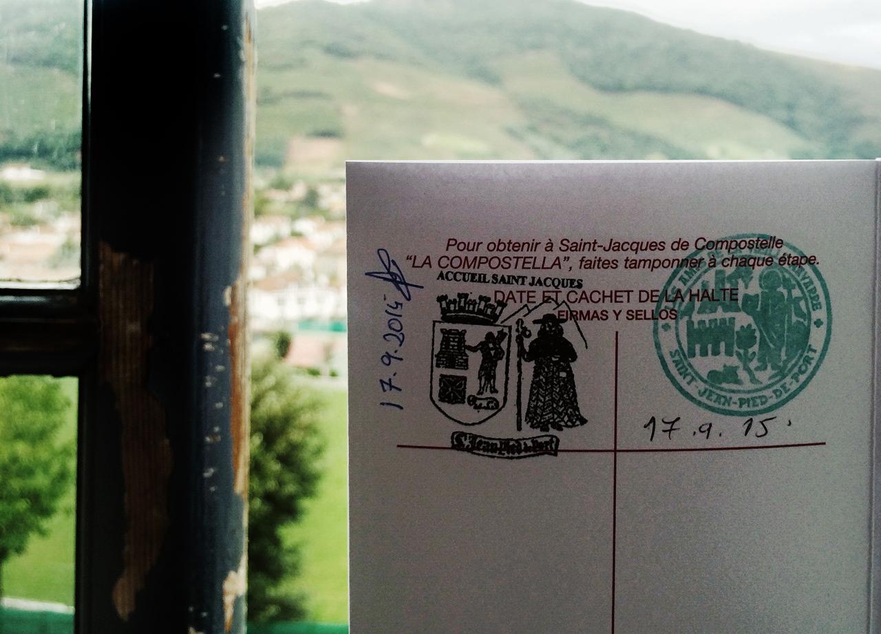 Pilgrims Passport El Camino De Santiago