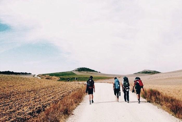 El Camino de Santiago Pilgrims Walk Spain Saint Jean Pied de Port