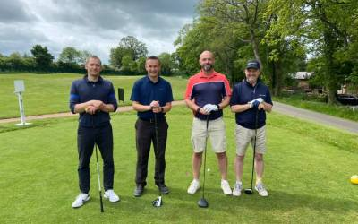 Hole in Two: The Unite Group plays golf for charities in June