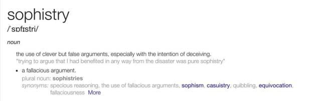sophistry