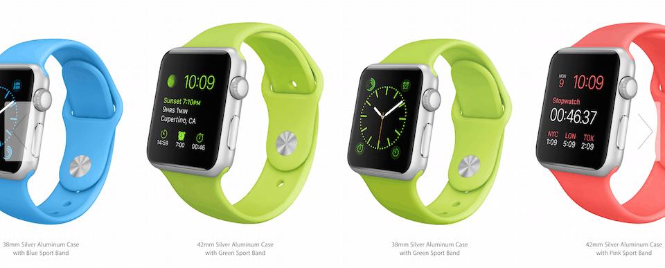 Apple Watch Sport Models