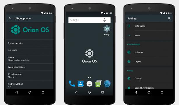 Orion OS v2.2 ROM