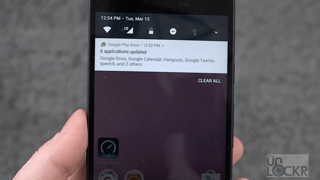 Android N on Nexus