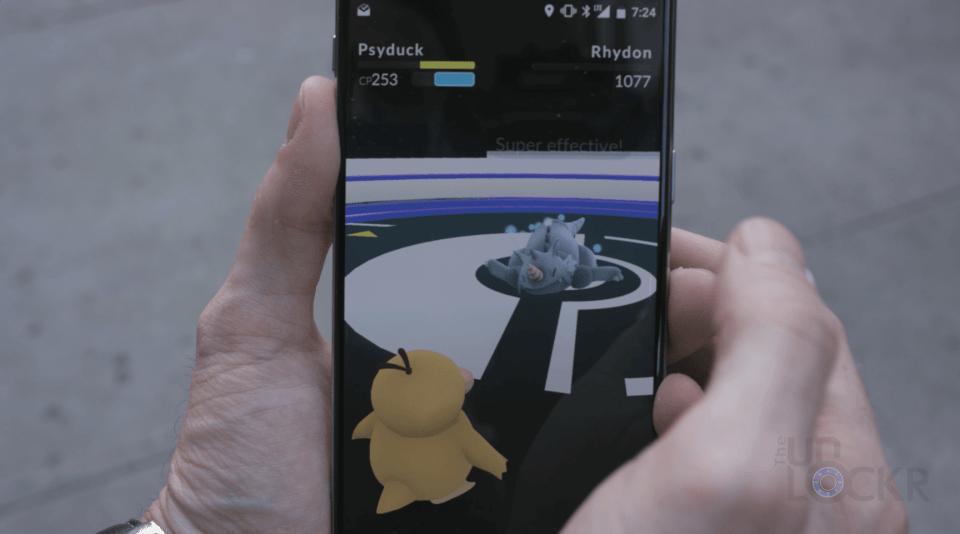 Pokemon Gym Victory