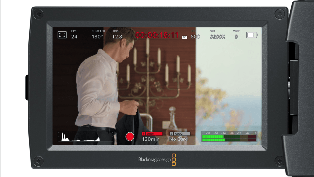 Blackmagic LUT in Camera