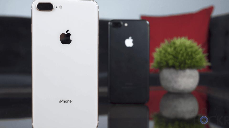 iPhone 8 vs iPhone 7 Plus