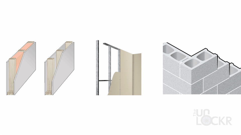 Different Wall Types