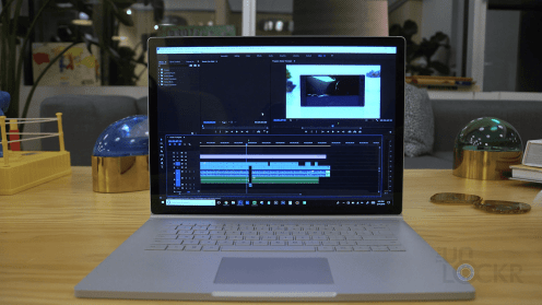 Premiere on the Surface Book 2