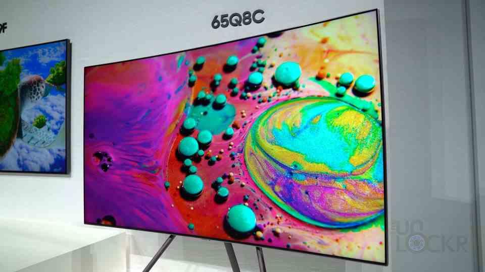 Curved QLED TV