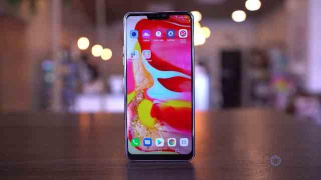 LG G7 Screen