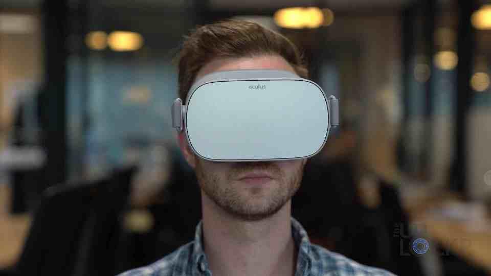 Oculus Go on Face