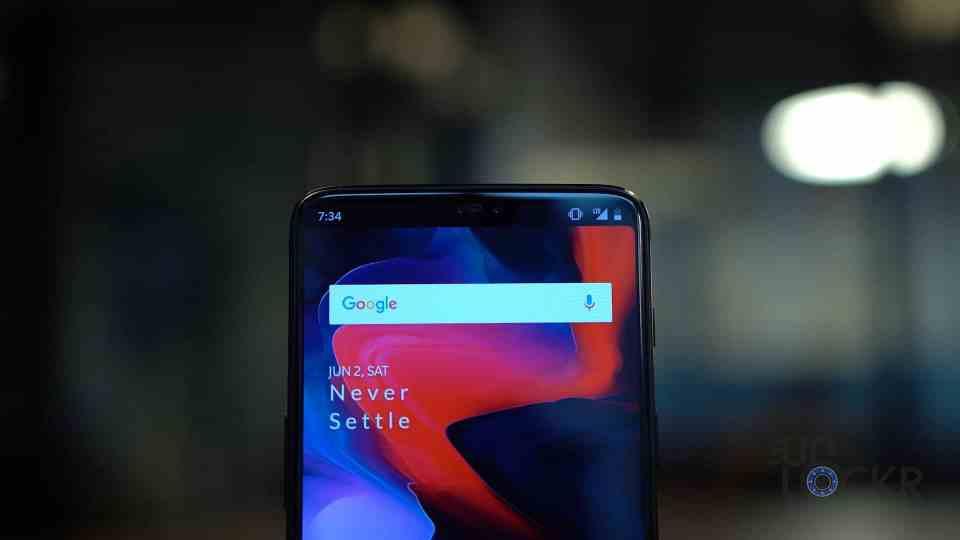OnePlus 6 No Notch