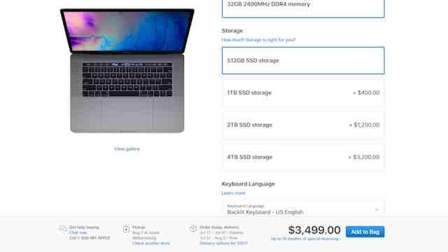 SSD Pricing
