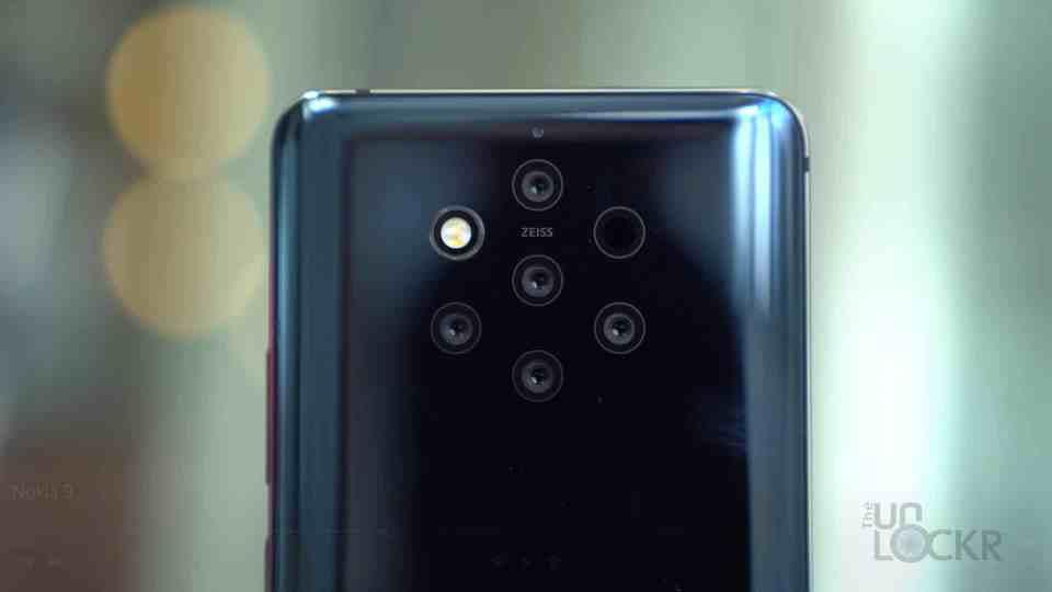 Close Up of 5 Cameras