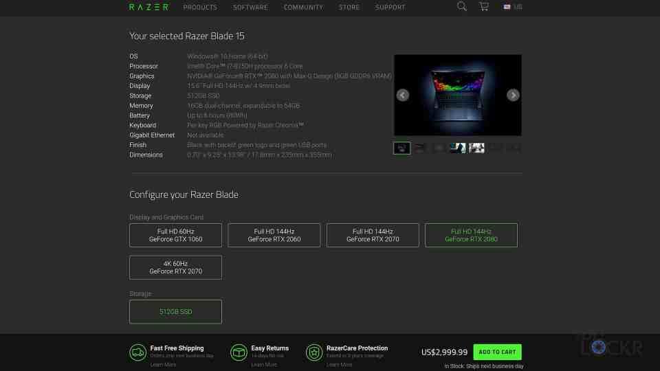 RTX 2080 Price