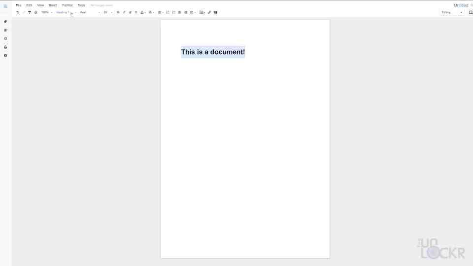 Format Document