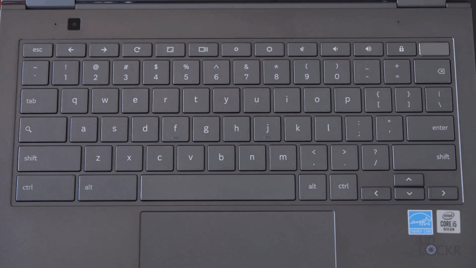 Galaxy Chromebook Keyboard