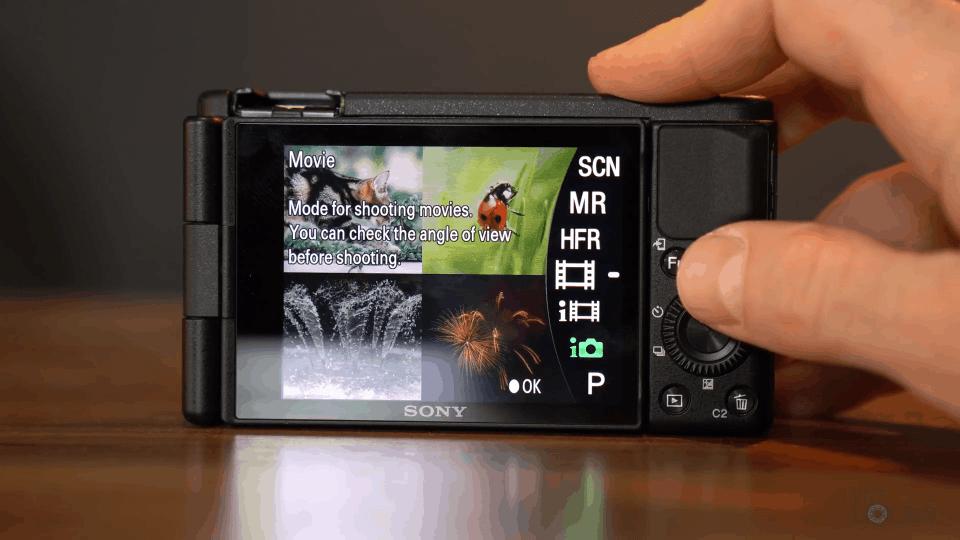Changing Camera Modes