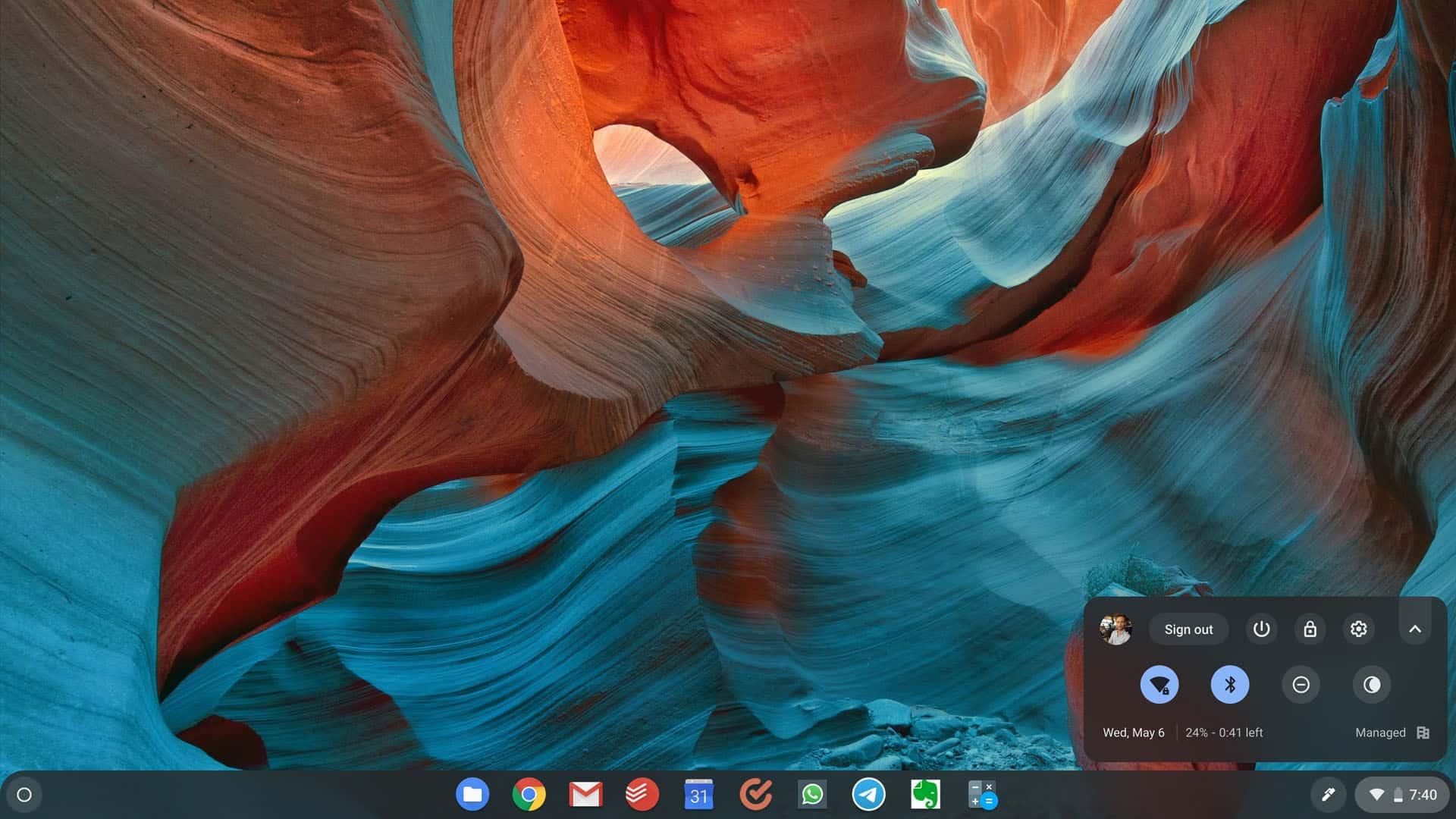 Chromebook Settings Icon