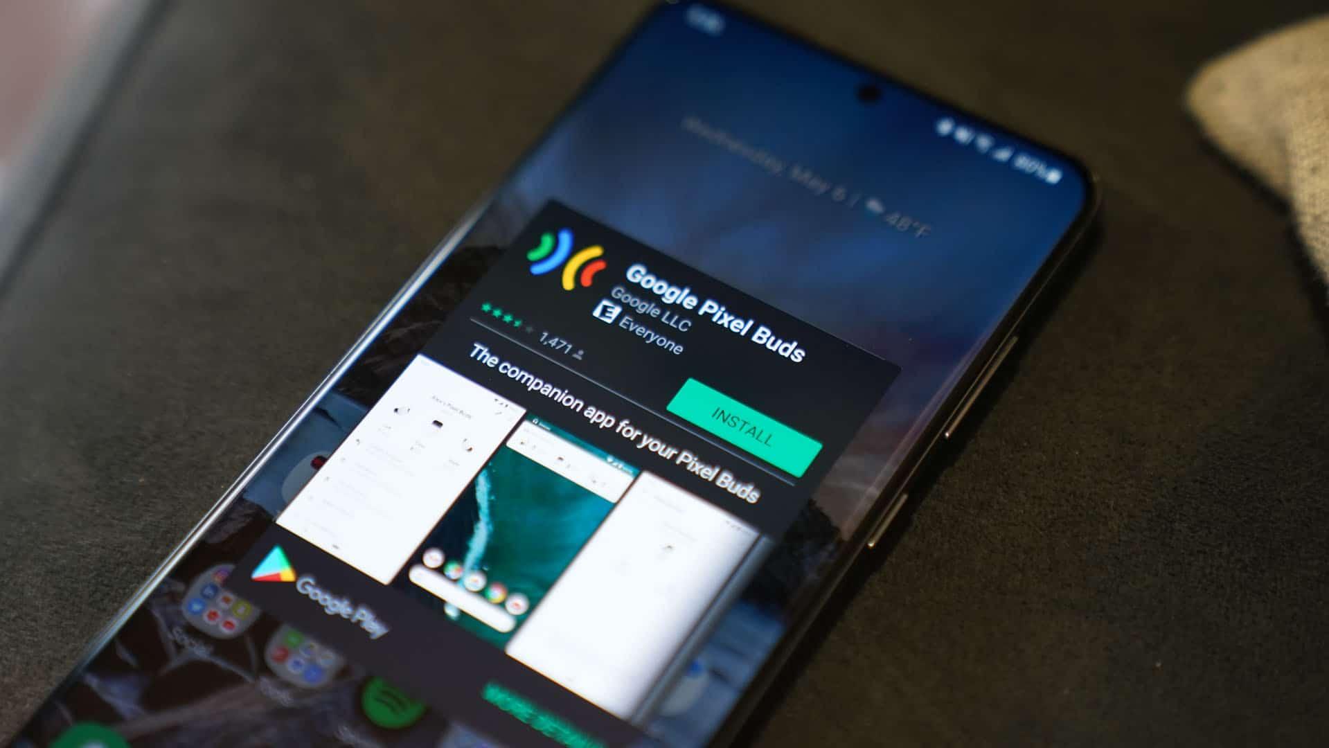 Pixel Buds Play Store App