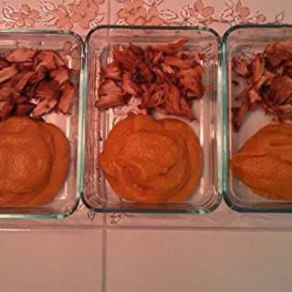 5 Days – 5 Lunches – The Healthy Work Lunch – Braised Pork Chops with Butternut Squash Puree